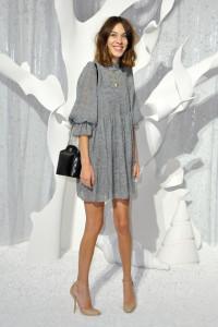 Chanel: Front Row - Paris Fashion Week Spring / Summer 2012