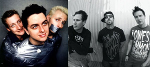Blink 182 and Green Day
