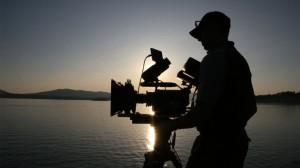 Cameraman on Lake