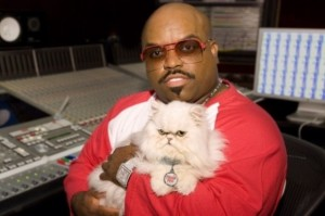 Cee Lo Green and Cat