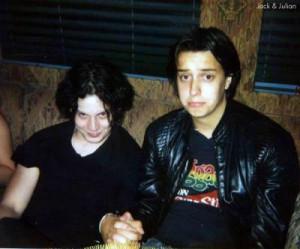 Julian Casablancas and Jack White