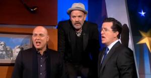 Michael Stipe, Colbert, Brian Eno