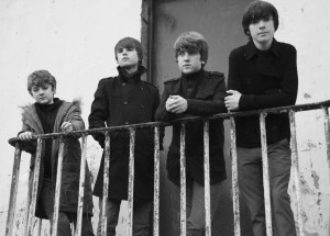 The Strypes posing