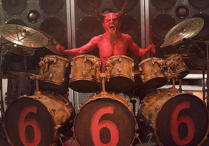 Dave Ghrol as the Devil