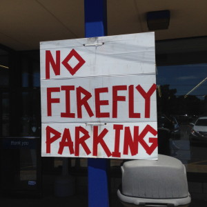 No Firefly music festival Parking