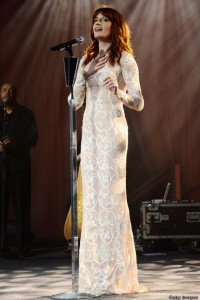Florence Welch White Dress